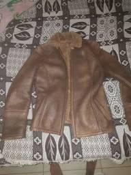 Jaqueta em couro importado