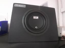 Box slim falcon 8 polegadas amplificado novo