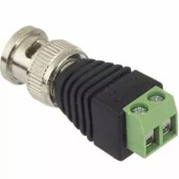 Conector P4 Macho Borne Plug Alimentação - 81658