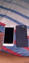 Vendo ou troco iphone 6  plus 64 gb prata