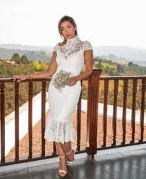 Vestido Casamento civil, pré wedding, noivado