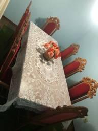 Jogo de mesas cadeiras