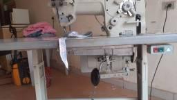 Máquina de costura industrial zigzag 2 e 3 pontos