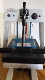 Prensa térmica + impressora para sublimação com pouco uso