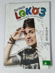 """Livro """"Eu fico loko 3"""" de Christian Figueiredo"""
