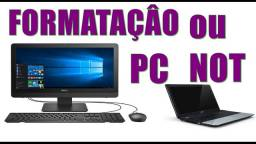 Formatacao de pc ou notebook