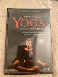 Livro Respiração, YOGA e autoconhecimento do Daniel Tonet