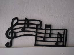 quadro  notas musicais