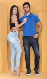 Calças Jeans Masculina e Feminina