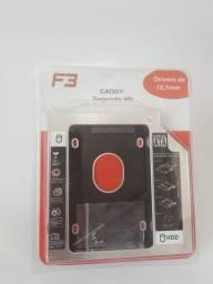 Adaptador Caddy para HD Ssd 12,5mm