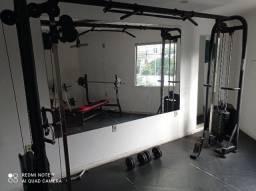 Vendo lote completo equipamentos musculação