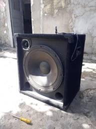 Caixa de som profissional staner ks-150
