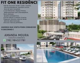 Título do anúncio: A= Fit One, apartamentos com 2 quartos, 55 m² Turu - São Luís/MA
