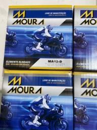 Título do anúncio: Bateria Moura ma12-d Harley davidson 883 entrega todo Rio