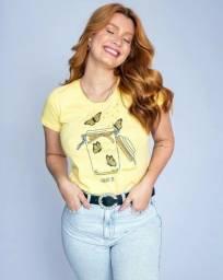 Título do anúncio: T-shirt 100% algoda?o  várias  cores  e  tamanhos