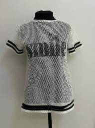 Blusa smile transparente