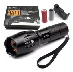 Promoção de lanterna Militar X900 zerada