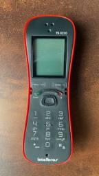 Telefone sem fio Vermelho TS8220 Intelbras