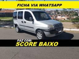 Financiamento com score baixo Fiat Doblo Completa 7 lugares