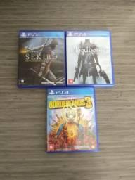 Sekiro, Borderlands 3, Bloodborne PS4