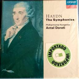 Joseph Haydn - Philharmonia Hungarica Symphonies (33 cd's) Novo e Importado