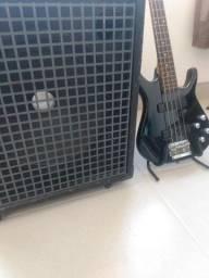 Cubo amplificador de baixo - Staner BS 120