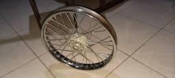 Roda completa moto 125cc