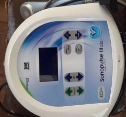 Vendo aparelho sonopulse está com pouco uso.estado de novo com garantia..