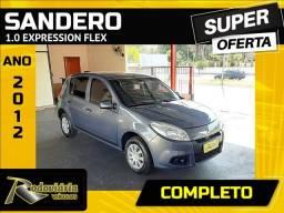 Título do anúncio: SANDERO 2012/2012 1.0 EXPRESSION 16V FLEX 4P MANUAL