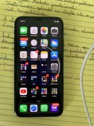 iPhone XS 64GB cinza espacial semi novo