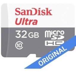 Cartão de Memoria Capacidades de até 32 GB