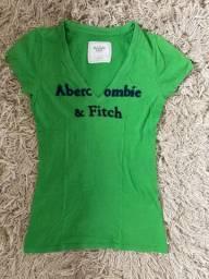 Camiseta original Abercrombie & Fitch tamanho P
