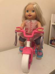 Boneca Little Mommy Mattel Meu Primeiro Passeio