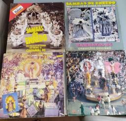 4 discos de Samba Enredo