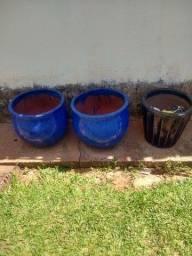 vendo vasos de cerâmica