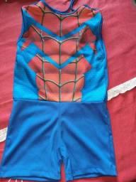 Fantasia infantil até 4anos do homem aranha
