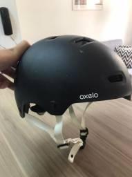 Capacete Adulto MF500 Oxelo - Bicicleta, Skate, Patinete