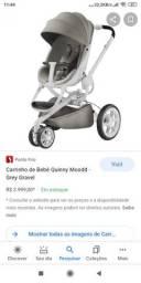 Carrinho de bebê Quinny mobbi com fator FPS na capota
