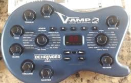 V-amp 2 (Bheringer) aceito troca por notbok ou tablet