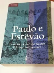 Livro Paulo e Estevão edição luxo