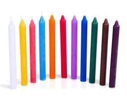 Vela votiva cores