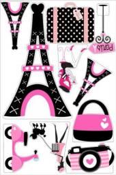 Display Decorativo Paris 10 Peças