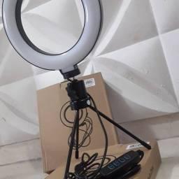 Ring Light Tr@co em uma C@l@psta comedouro
