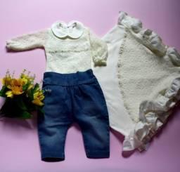 Saída de Maternidade para bebê menina