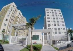 Apartamento com 2 dormitórios para alugar, 49 m² por R$ 800,00/mês - Jardim Alvorada - Mar