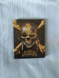 Blu-ray Piratas do Caribe 5: A Vingança de Salazar