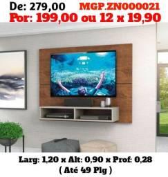 Janeirão Baixa Preço- Painel Tv 49 Polegada - Top de Linha