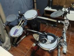Bateria Eletrônica Staff Drums Módulo Alesis Dm5