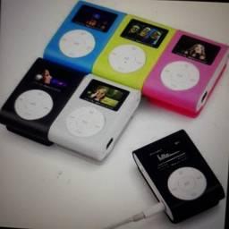 Kit com 1 MP3 digital e 1 fone bluetooth MODELO i7s novo: