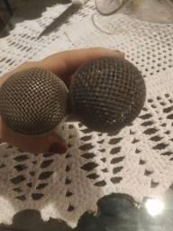 Título do anúncio: 2 Microfone profissional com fio lê son sm58